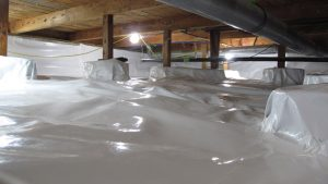 crawl space moisture protection