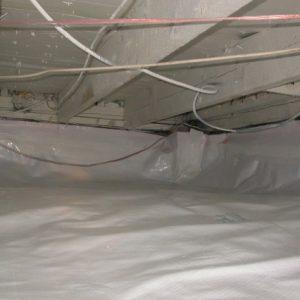 vapor barrier installation
